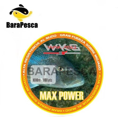 Wakasu Red Max Power 1000mts