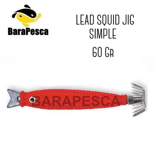 Lead Squid Jig 60gr